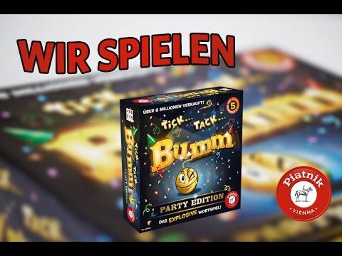 Piatnik Tick Tack Bumm Party Edition - Spielanleitung