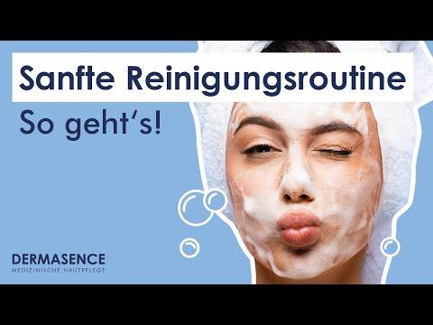 DERMASENCE Reinigungsmilch: Reinigungs-Tutorial