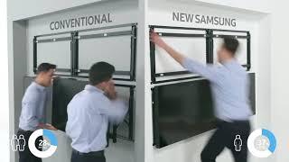 Màn hình ghép Samsung LED UHD - Sự đầu tư xứng đáng trong kinh doanh
