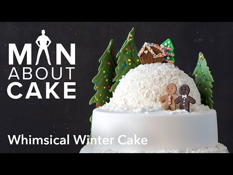 Video (man about) Whimsical Winter Cake | Man About Cake