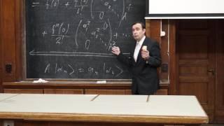 Силаев П. К. - Квантовая теория - Операторы. Матричное представление (Лекция 2)