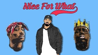 Drake & 2Pac – Nice For What (Remix ft. Notorious B.I.G)