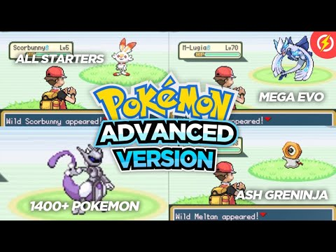 Completed Pokemon GBA Rom Hack With In Battle Mega Evolution