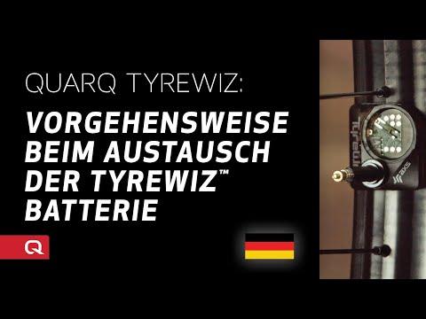 QUARQ: Vorgehensweise beim Austausch der TyreWiz™ Batterie