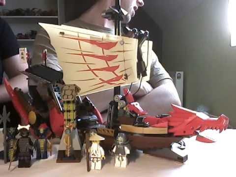 Vidéo LEGO Ninjago 9446 : Le QG des ninjas