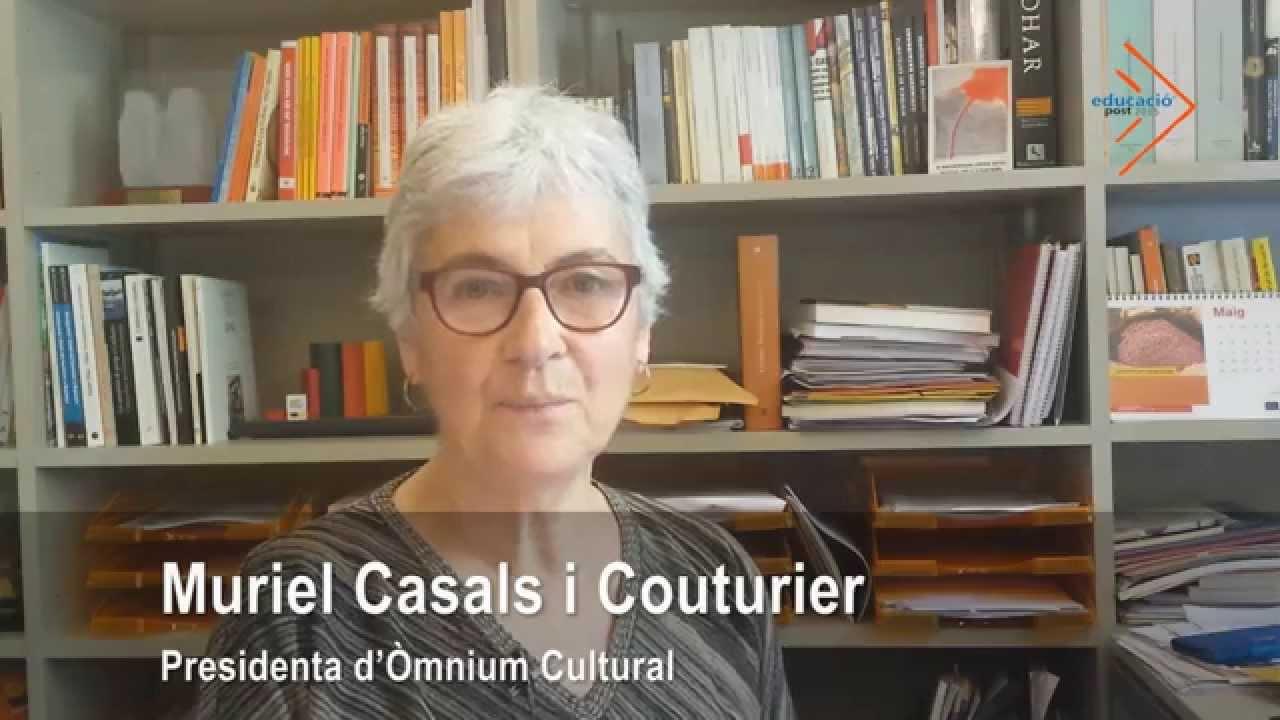 Un país lliure amb una educació lliure que permeti aprendre a viure i a conviure - Muriel Casals