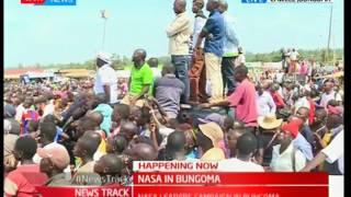 NASA brigade takes campaigns to Bungoma