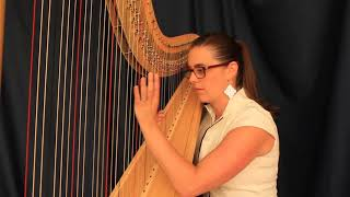 'Beyond' Daft Punk harp cover arranged by Emily Sanzaro