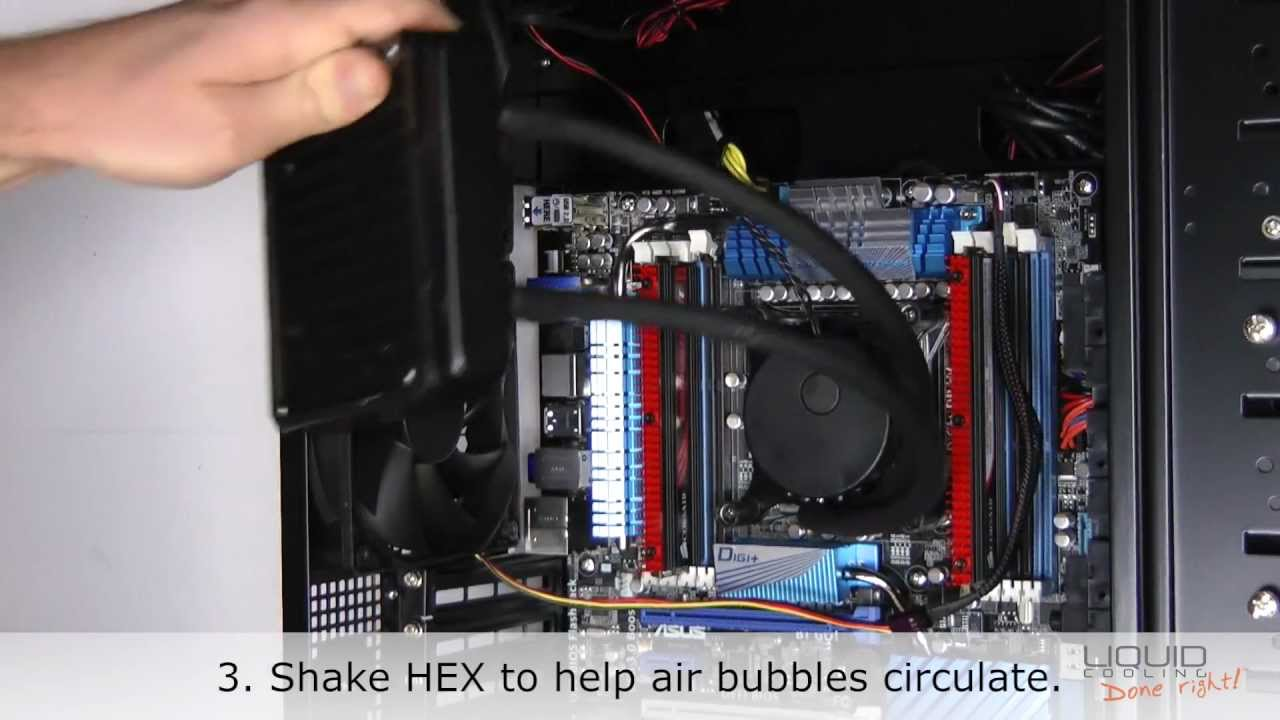 How To Quiet A Noisy Asetek Liquid Cooling Pump