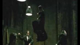 Matrix Reloaded - Intro Fight Scene - Three Agents