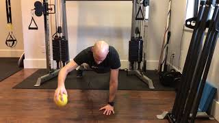 Plank Shoulder Plyometric Rotator Cuff