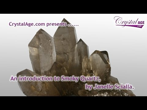 Video Healing Crystals Guide - Smoky Quartz
