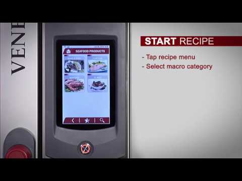 Ovens Series Venexia - Start Recipe