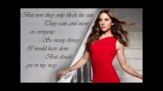Melanie C - Both Sides Now (Lyrics)