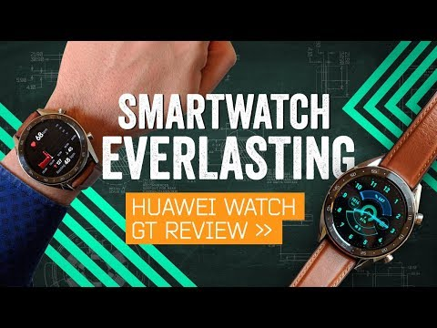 Huawei Watch GT Review: Two-Week Battery Life (!)