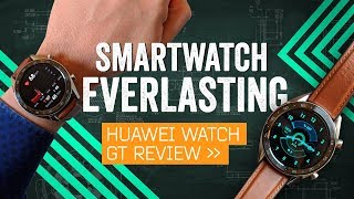 Huawei Watch GT Review: Two-Week Battery Life