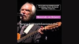 """GEORGES MOUSTAKI """"Il Est Trop Tard"""" (pendant Que Je Dormais) Dejazet 1987"""