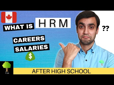 Human Resources Management in CANADA | After High School/12th