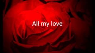 Rocazino  - All My Love Danish Lyrics, English Translation