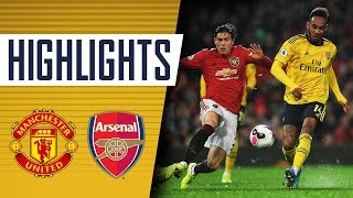Manchester United 1-1 Arsenal | Goals and highlights