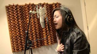 Charice and Nick Jonas in the Recording Studio for 'One Day'