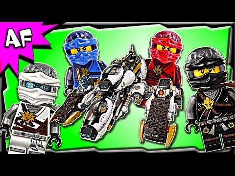 Vidéo LEGO Ninjago 70595 : Le tank ultra furtif