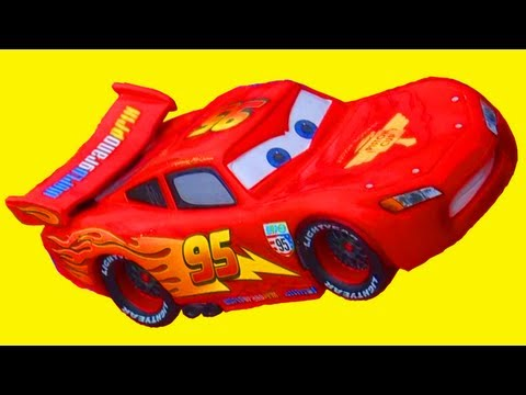 Lightning McQueen Cars 2 Disney Figure Mattel Toys DisneyStore Exclusive Pixar Toy Review Piston Cup