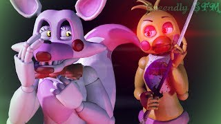 [SFM FNAF]Five Nights at Freddy's (part 2) -Chica vs. Mangle by: [Tony Crynight]