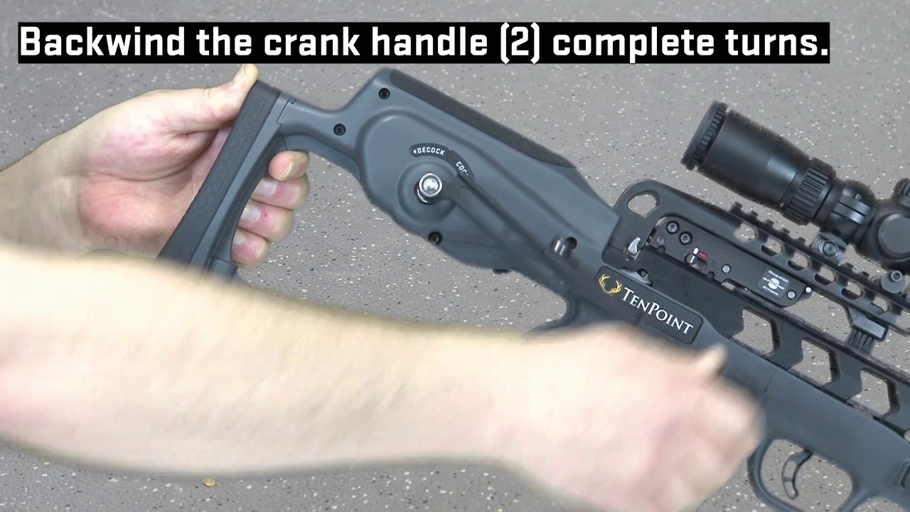 An instructional video on the importance of backwinding the crank handle on an ACUslide unit.  Please call 330-628-9245 Option 2 for more information.