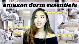 ESSENTIAL COLLEGE DORM SHOPPING LIST: Everything That Bought For My Dorm (cute + Cheap)!!