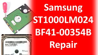 Samsung repair data recovery ST1000LM024  ST500LM012 ST750LM022 HN M101MBB  HN M500MBB  HN M101MBB H