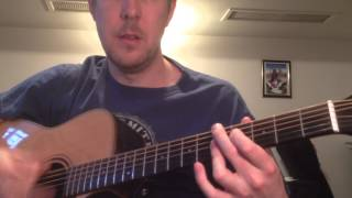 """Chet Atkins lick - """"There'll be some changes made"""""""