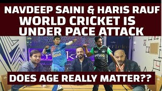 World Cricket Is Under Pace Attack Navdeep & Haris