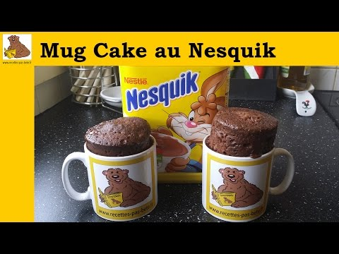 Le Mug cake au nesquik (recette rapide et facile)