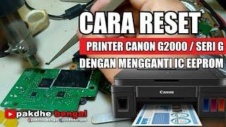 printer canon g2000 mati total setelah di reset - Thủ thuật