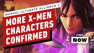 Marvel Ultimate Alliance 3 Trailer Confirms X-Men Playable Characters - IGN Now