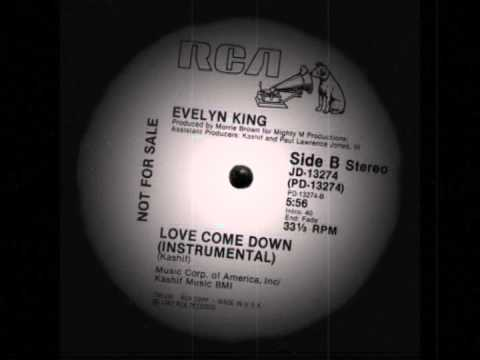 Evelyn King - Love Come Down (Instrumental)