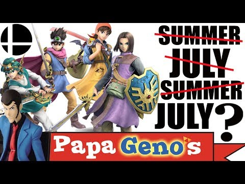 Hero Releases for Smash the Month of (SUMMER) - PapaGenos