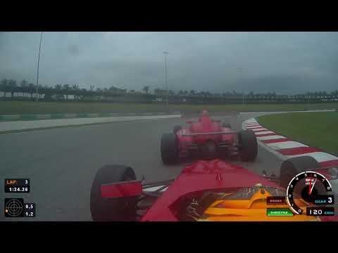 Formula 4 SEA Race 4 Onboard Elias Seppanen Sepang International Circuit