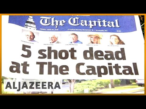 🇺🇸 Capital Gazette: Victims remembered in first edition after attack | Al Jazeera English