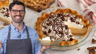recipe peanut butter pie without cream cheese