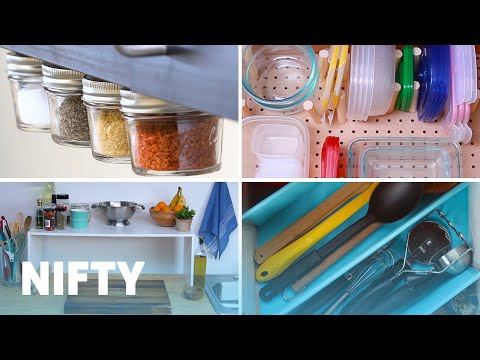 9 Tips For Making Your Kitchen Efficient and Organised
