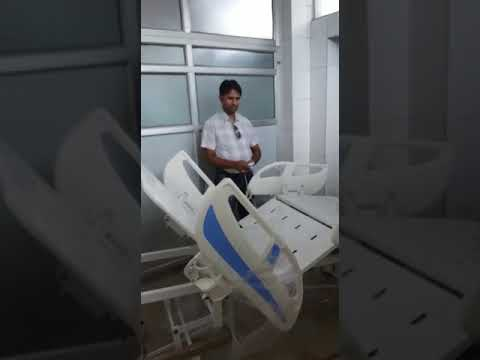 Fully Motorized ICU Bed