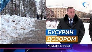 Сергей Бусурин намерен пересмотреть условия контракта по уборке города