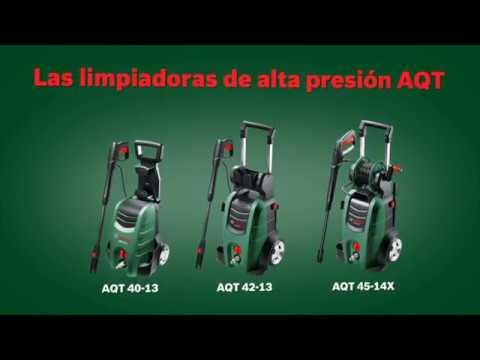 Gama de limpiadoras de alta presión Bosch AQT