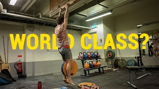 Is Nikkens finger strength world class? by Eric Karlsson Bouldering