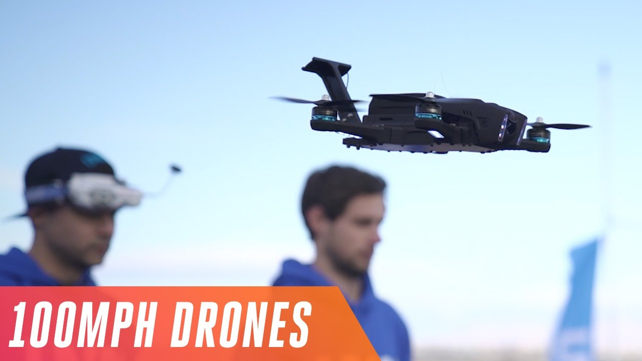 Racing drones at 100 MPH in the Las Vegas Drone Rodeo thumbnail