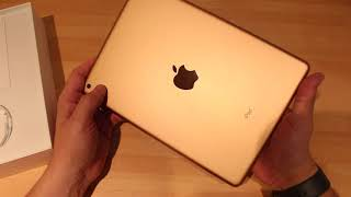 Apple IPad (6th Gen) 2018 In GOLD Unboxing UK