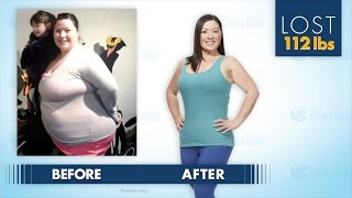 Jessica Lost 112 Pounds In The Beachbody Challenge!