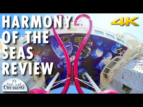 Harmony of the Seas Tour & Review ~ Royal Caribbean International ~ Cruise Ship Review [4K Ultra HD]